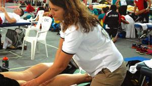 Massaggio Olimpiadi