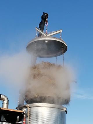 distillazione vapore